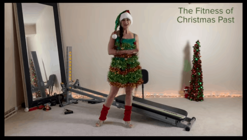 "The Fitness of Christmas ""PAST"" – Present -Future: Part 1"