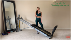 """THE """"GO TO"""" TOTAL GYM WORKOUT"""