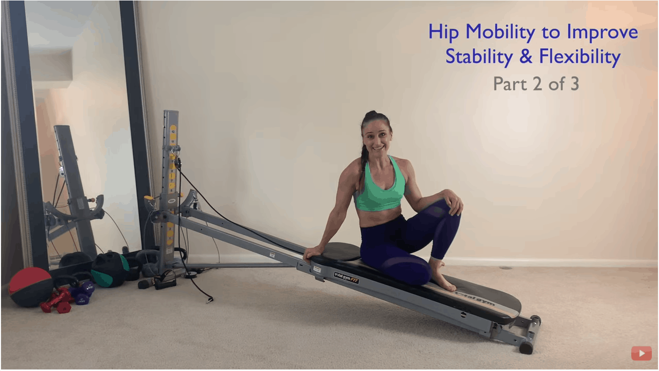 Strengthen your hips on the Total Gym using the leg pulley accessory – Part 2 of 3