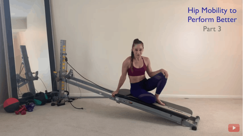 Strengthen your hips on the Total Gym using the leg pulley accessory–Part 3 of 3