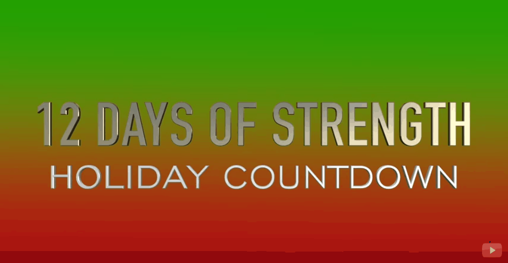 Holiday Count Down Total Gym Strength Challenge