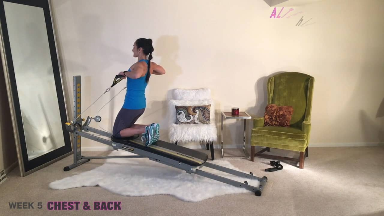 New Year Total Body Challenge – Week 5: Chest and Back