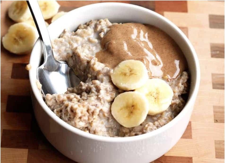 Peanut Butter Banana Slow Cooder Oatmeal