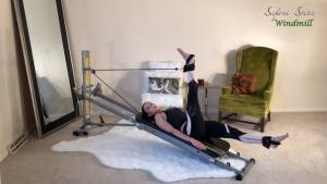 Pilates Exercises Using the Total Gym Leg Pulley Attachment