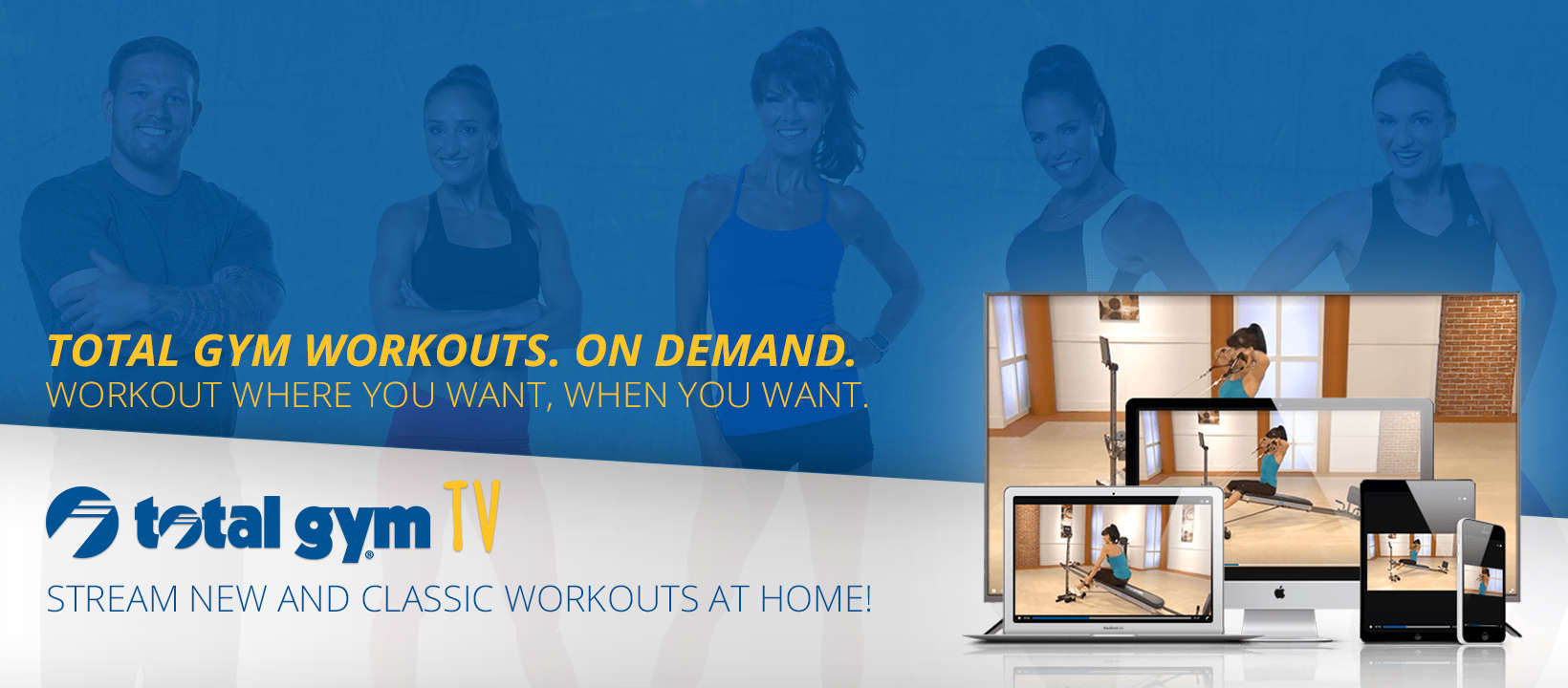 Discover Total Gym TV