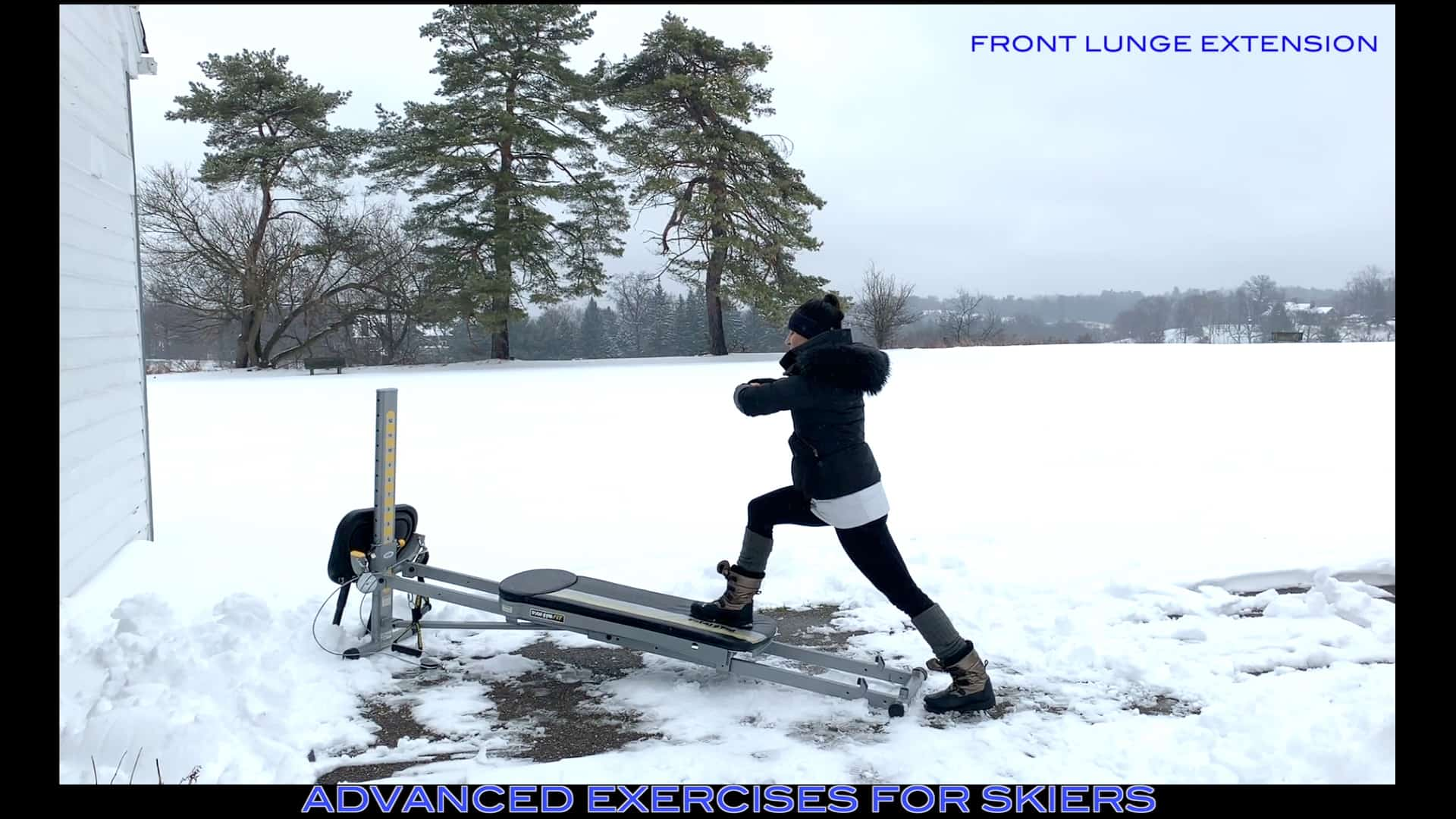Total Gym Advanced Exercises for High Performance Skiers