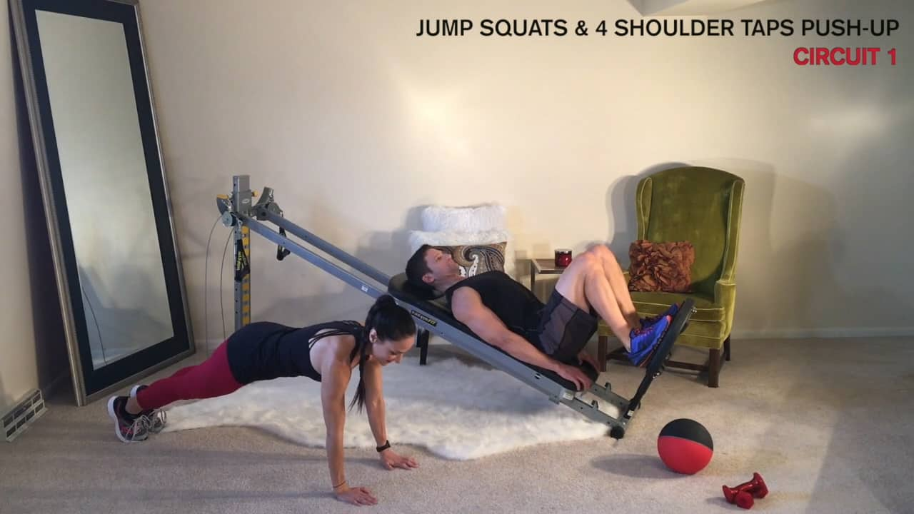 Total Gym Circuit Training with a Partner