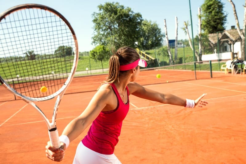 Total Gym Exercises for Clay Court Tennis