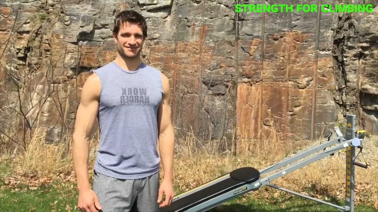 Total Gym Exercises for Climbers