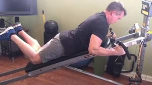 Total Gym Tri-Grip Shaper Bar Workout