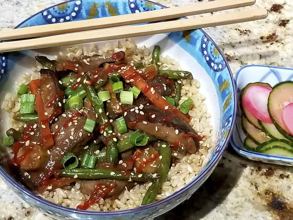 Healthy Asian Stir Fry & Salad Recipes