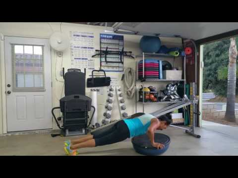 Total Gym/BOSU Ball Workout