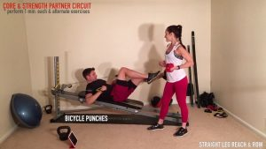 Couple's Workout – Cross Training with the Total Gym