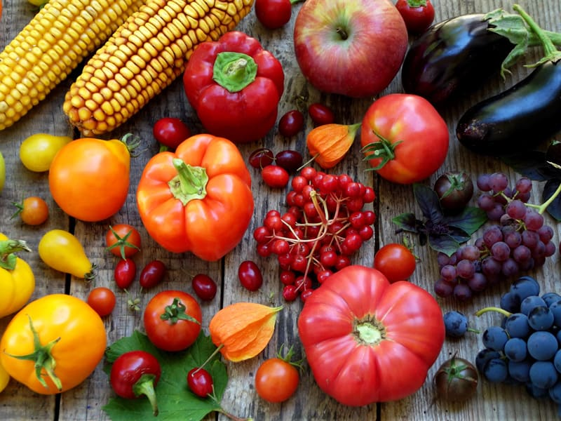 Eating a Rainbow, Why Color in Your Fruit & Vegetables Matters