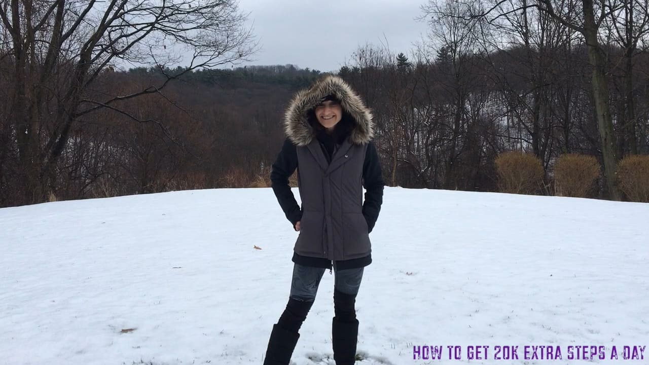 How to reach 20k steps walked each day (especially in the cold)