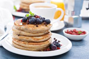 Healthy Protein Pancake Recipes using Total Gym FIT BLAST