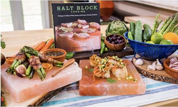 seared-scallops-on-himalayan-salt-block