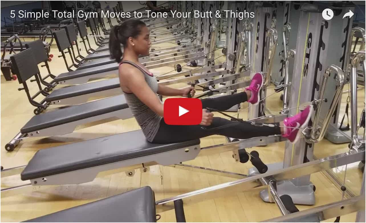 simple moves to tone glutes and thighs video