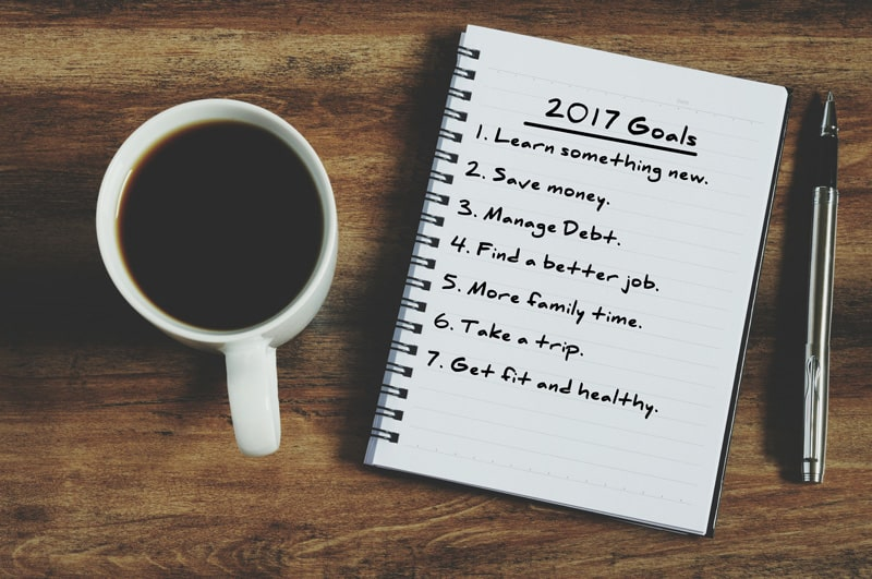 Strategies to Stick to your New Year's Resolution