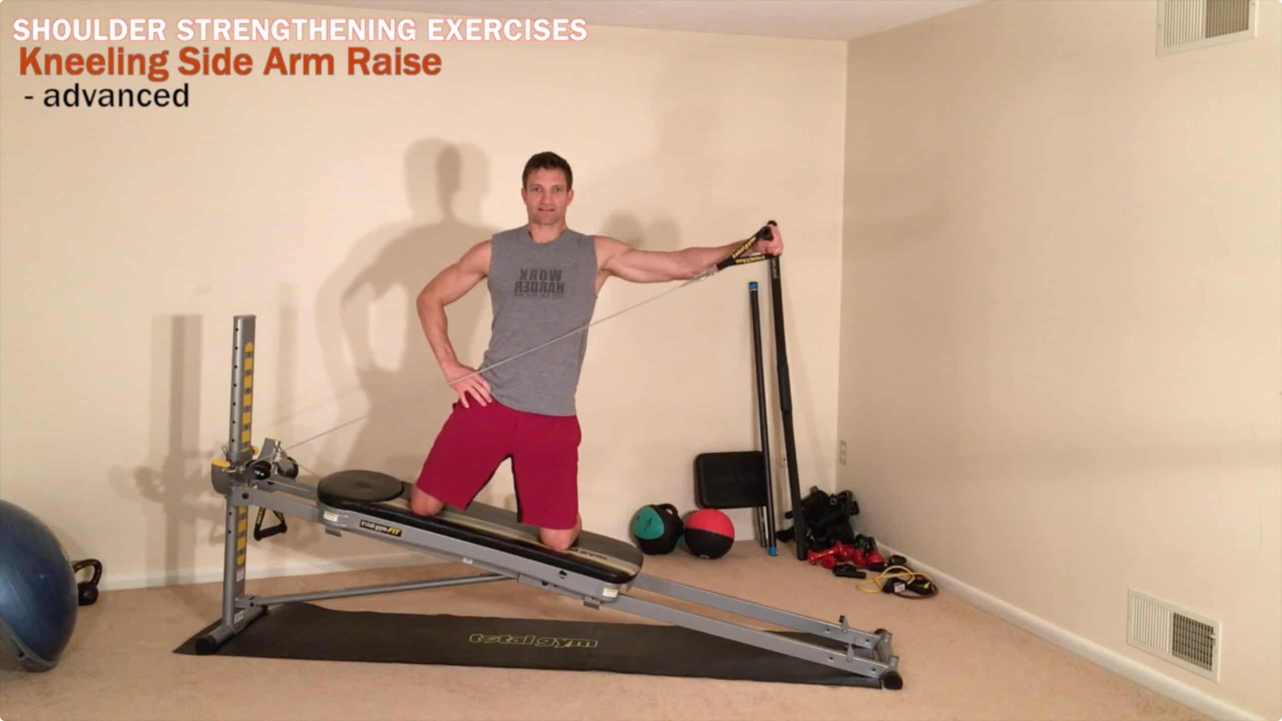 Shoulder Strengthening Exercises