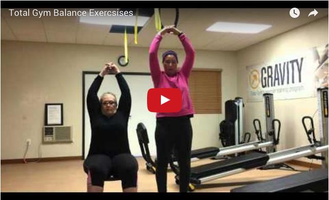 Total Gym Balance exercises video