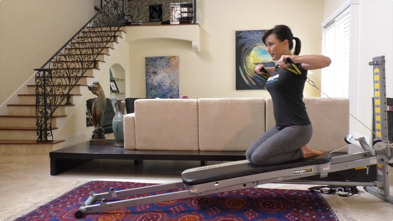 Transform your home into an slt gym with total gym total for Gimnasio pilates