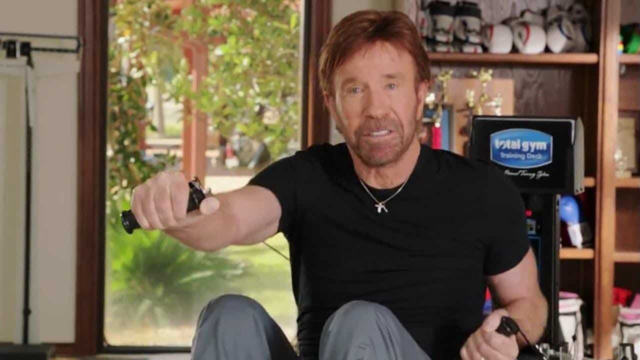 Chuck Norris: Exercise Keeps Me Young