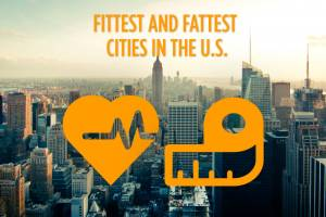 The Fittest and Fattest Cities in the U.S.