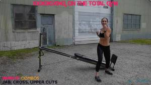 Kickboxing Workout on Total Gym