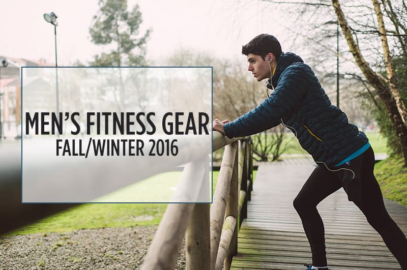 Your Guide to Men's Workout Gear Trends, Fall / Winter 2016