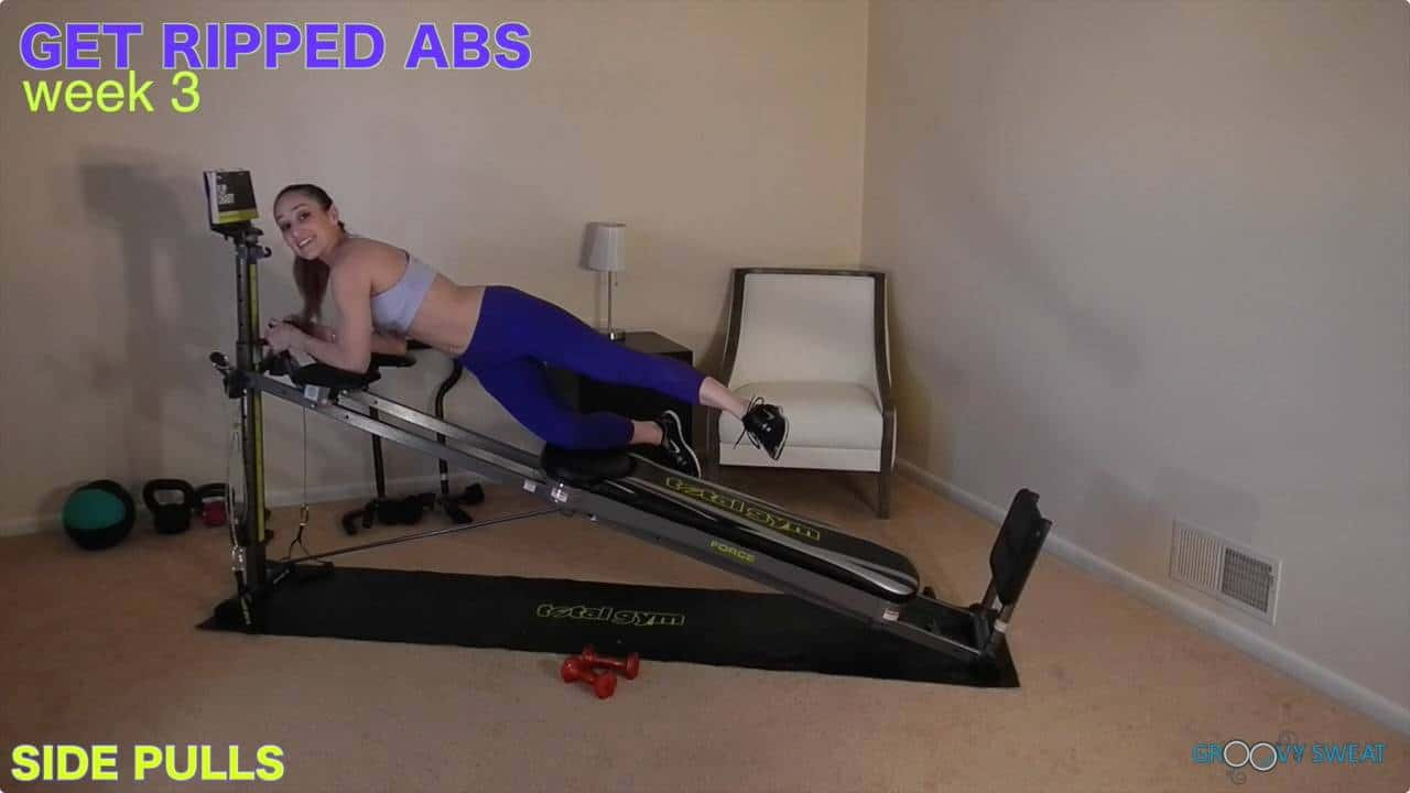 3 Weeks To Six Pack Abs With The Total Gym