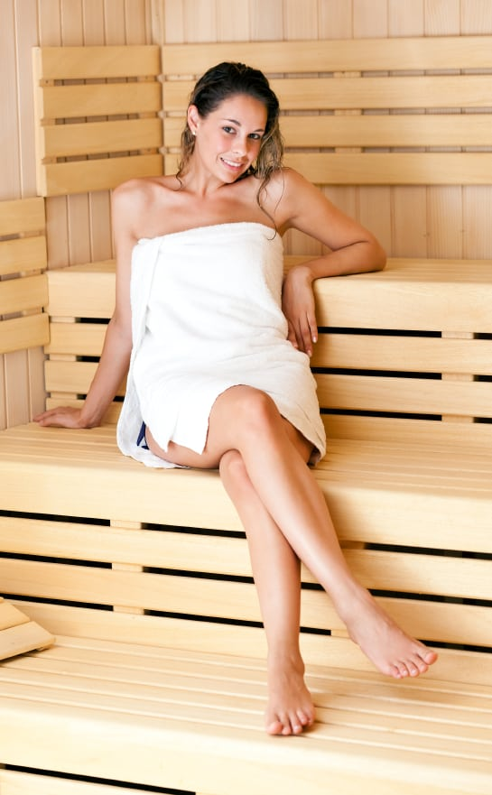 Sauna Use After a Workout has Health Benefits & Risks That