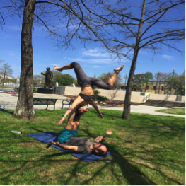Acro Yoga in New Orleans!