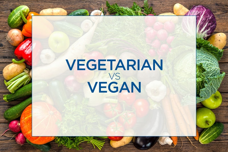 Vegan and Vegetarian? What's the difference?