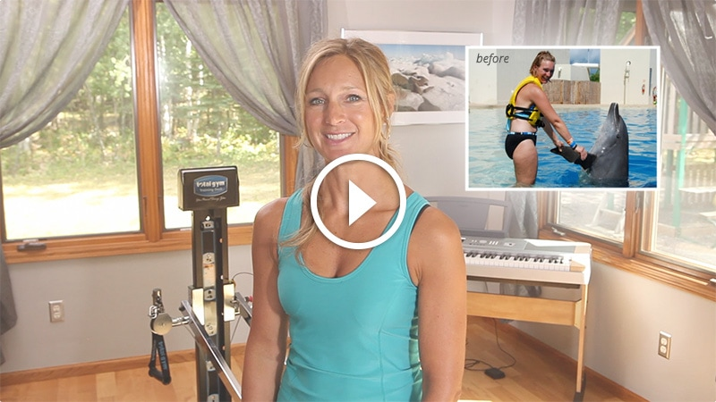 Lynette lost 25 pounds with Total Gym!