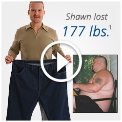 Shawn lost 177 pounds by working out on Total Gym