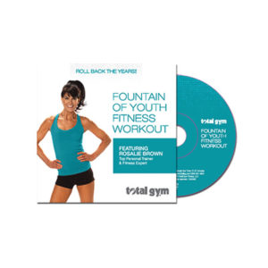 Fountain of Youth Fitness Workout DVD - Total Gym