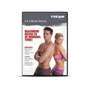 Total Gym 6-8 Minute Workout DVD - 12 Routines - Total Gym