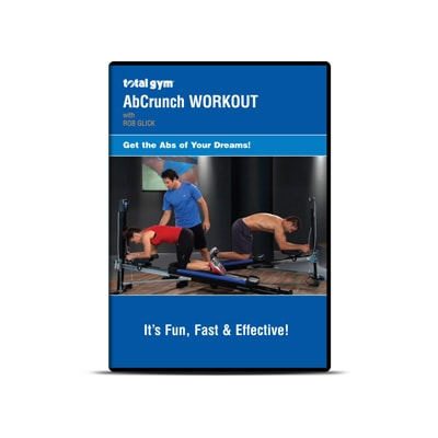 Total Gym AbCrunch Workout DVD - Total Gym