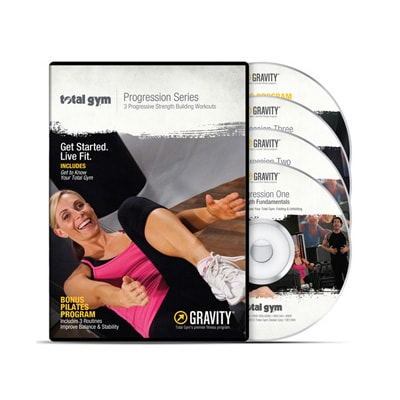 Total Gym Progression DVD Series - Total Gym