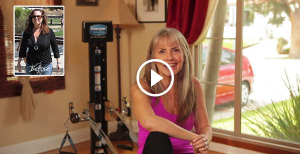 Watch Darla's Total Gym Success story, she lost 60spounds