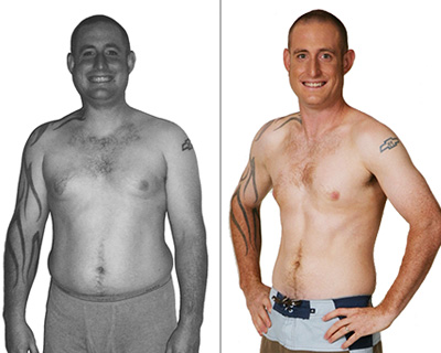 BRIAN LOST 45 LBS<sup>1</sup>!