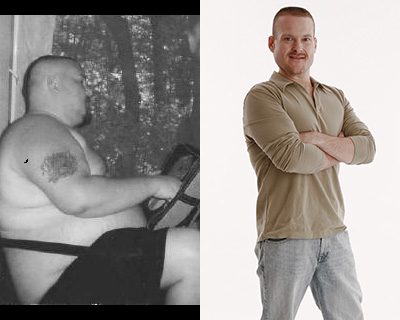 SHAWN LOST 177 LBS<sup>1</sup>!