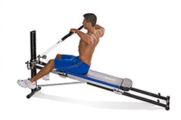 Total Gym upright row