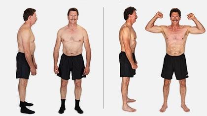 Bruce lost 15 lbs in 3 weeks!*