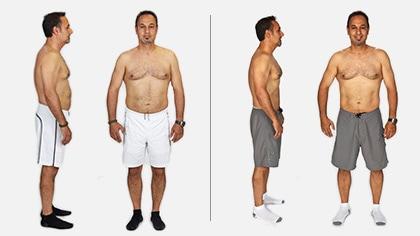 Bud lost 8 lbs in 3 weeks!*