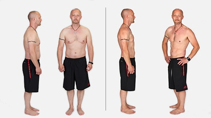 Doug lost 15 lbs in 3 weeks!*