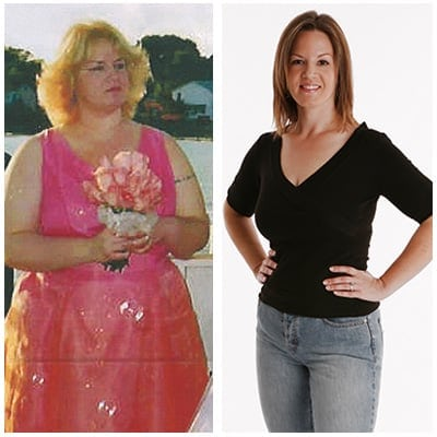 KRISTIN LOST 92 LBS<sup>1</sup>!