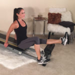 Alleviate and stretch tight calf muscles with the Total Gym Roller
